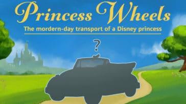 If Disney Princesses had modern-day vehicles 14