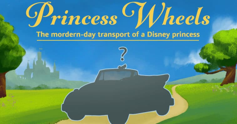 If Disney Princesses had modern-day vehicles 14