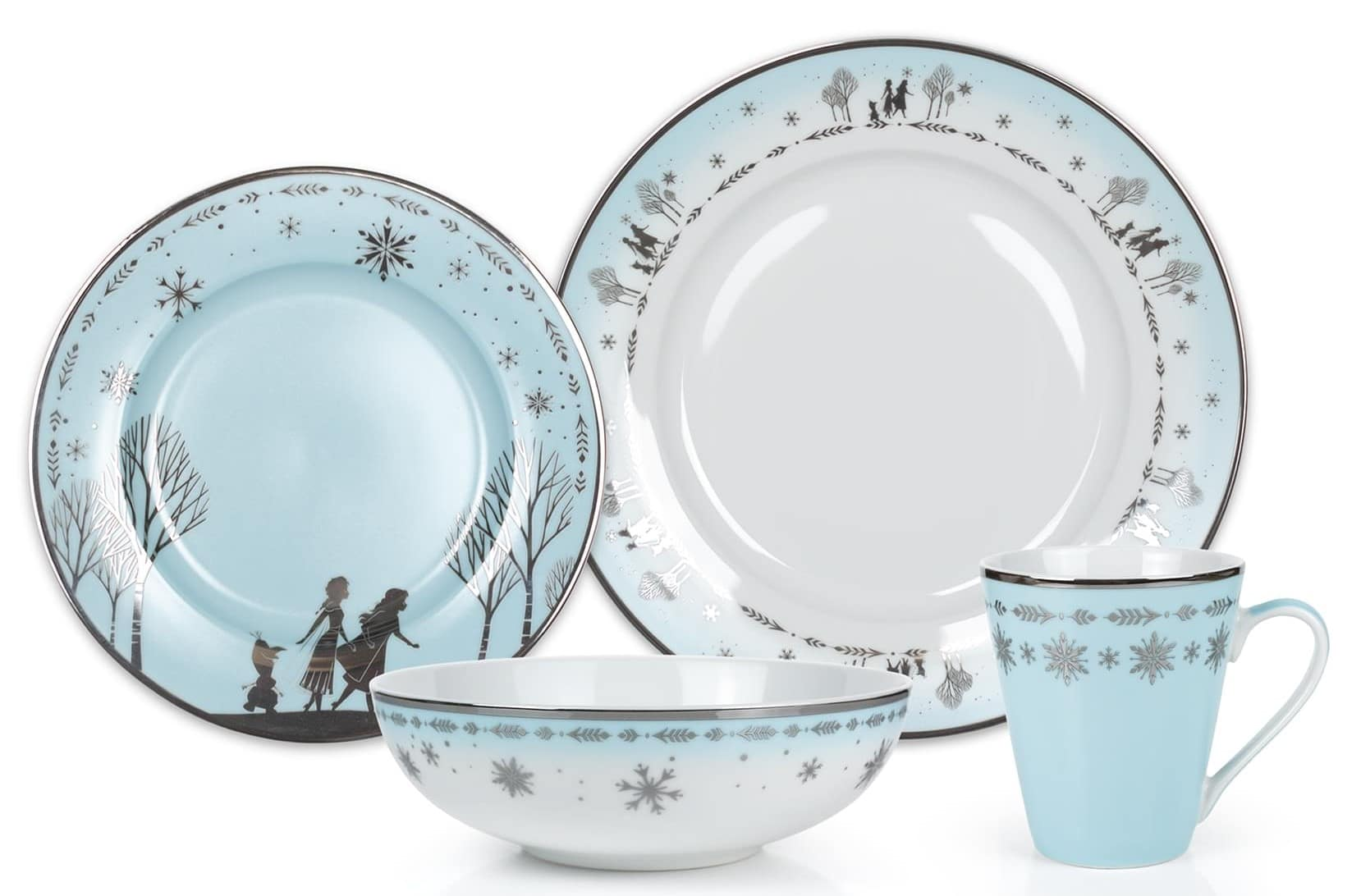 Elegant Disney Princess dinnerware collection features Frozen and Mulan 15
