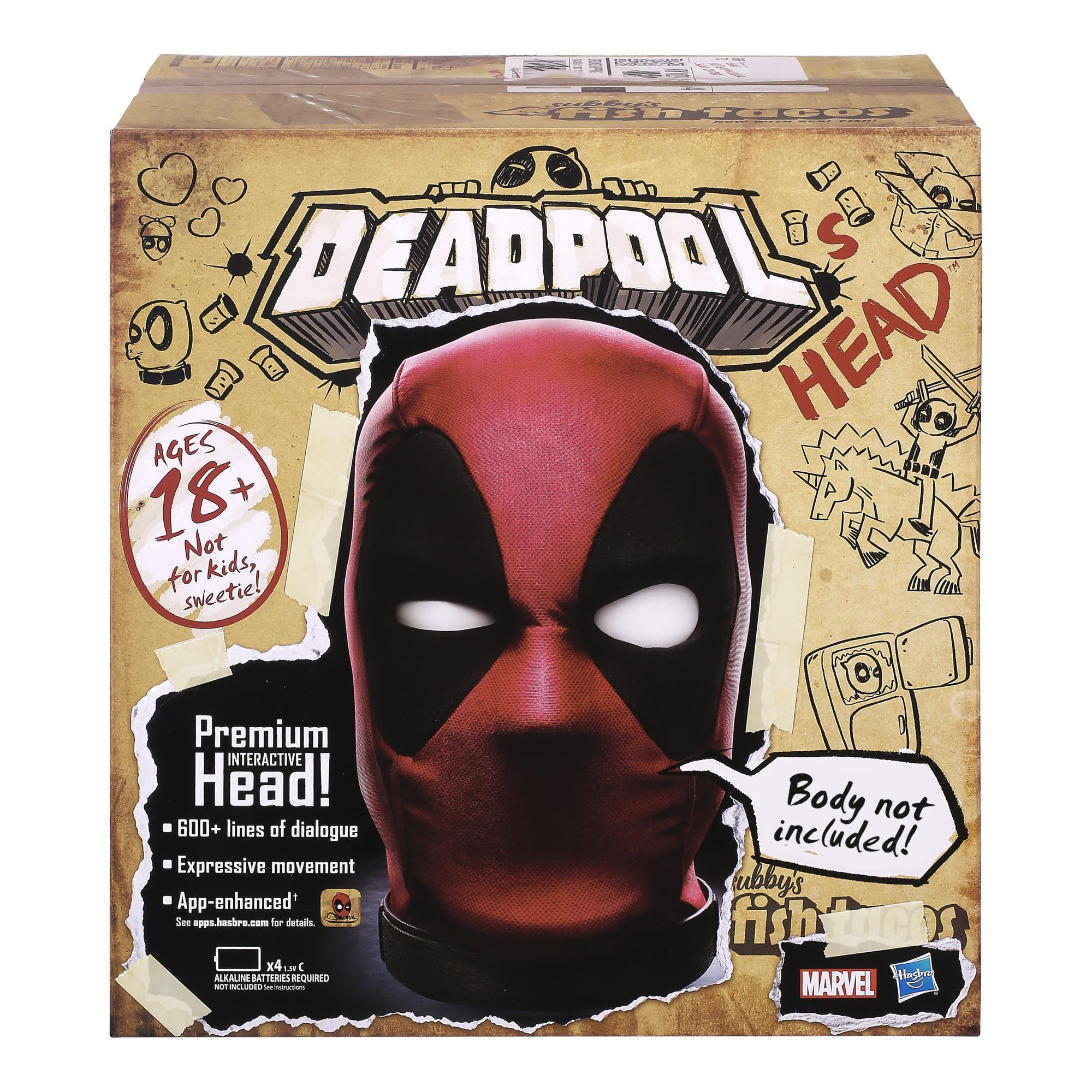 Deadpool interactive talking head is inappropriate and totally hilarious 14