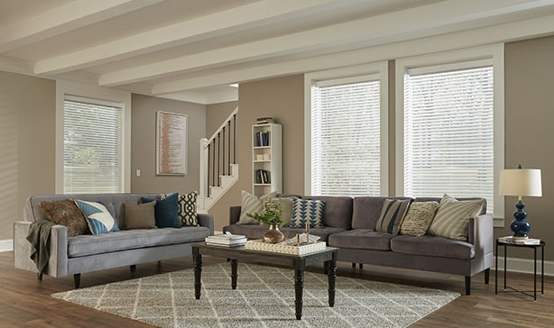 Serena smart wood blinds automatically adjust to natural light throughout the day 14