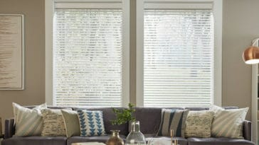 Serena smart wood blinds automatically adjust to natural light throughout the day 15