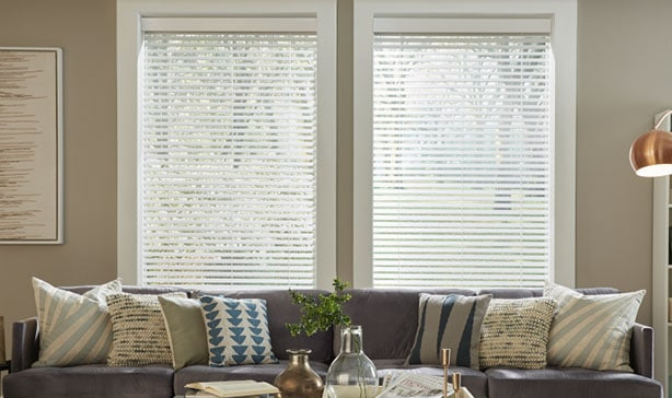 Serena smart wood blinds automatically adjust to natural light throughout the day 12