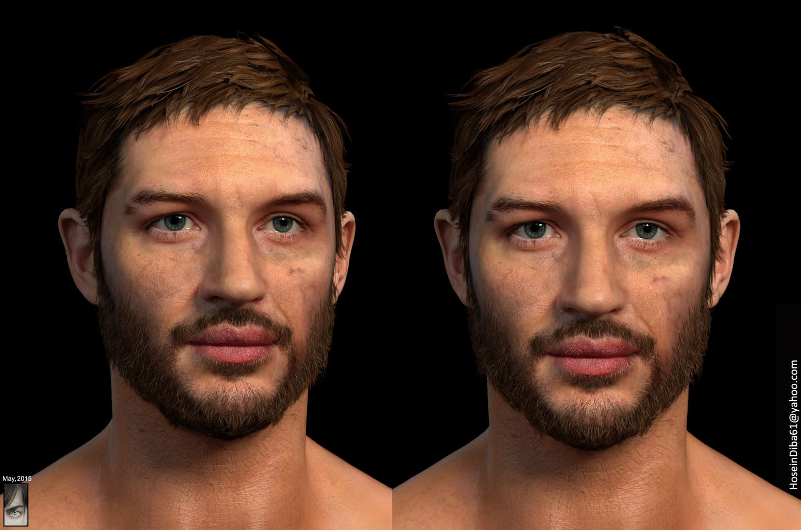 Celebs transformed into insanely realistic 3D characters 12