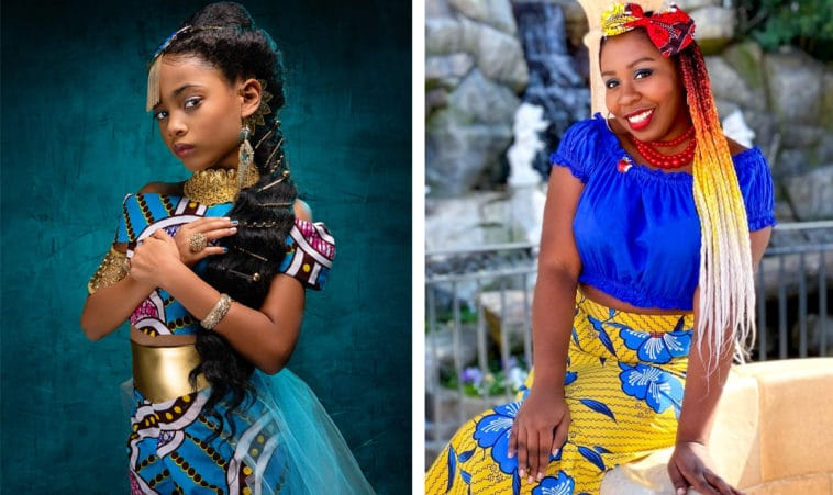 What Disney Princesses would look like if they were African American 12