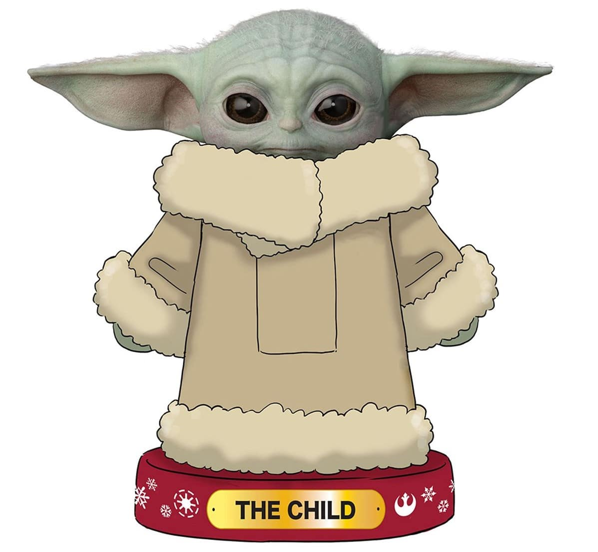 Baby Yoda Christmas stockings, nutcracker and snow globe make us feel like it's Christmas in June 16