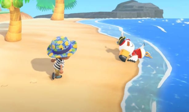You can now go swimming in Animal Crossing 14