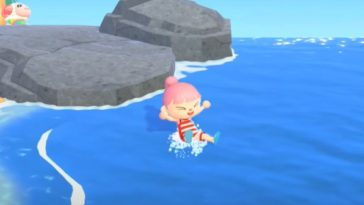 You can now go swimming in Animal Crossing 16