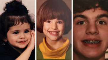 Can you identify these celebrities from their childhood photos? 23