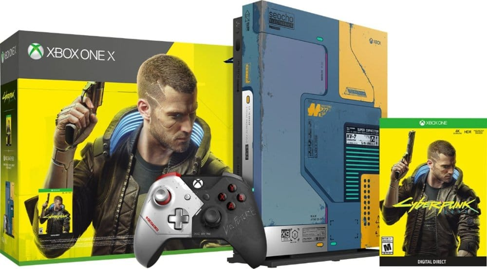 The Xbox One X Cyberpunk 2077 limited edition bundle is already sold out 15