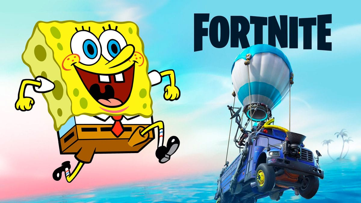 Fornite's Season 3 could be a Spongebob Squarepants crossover 13