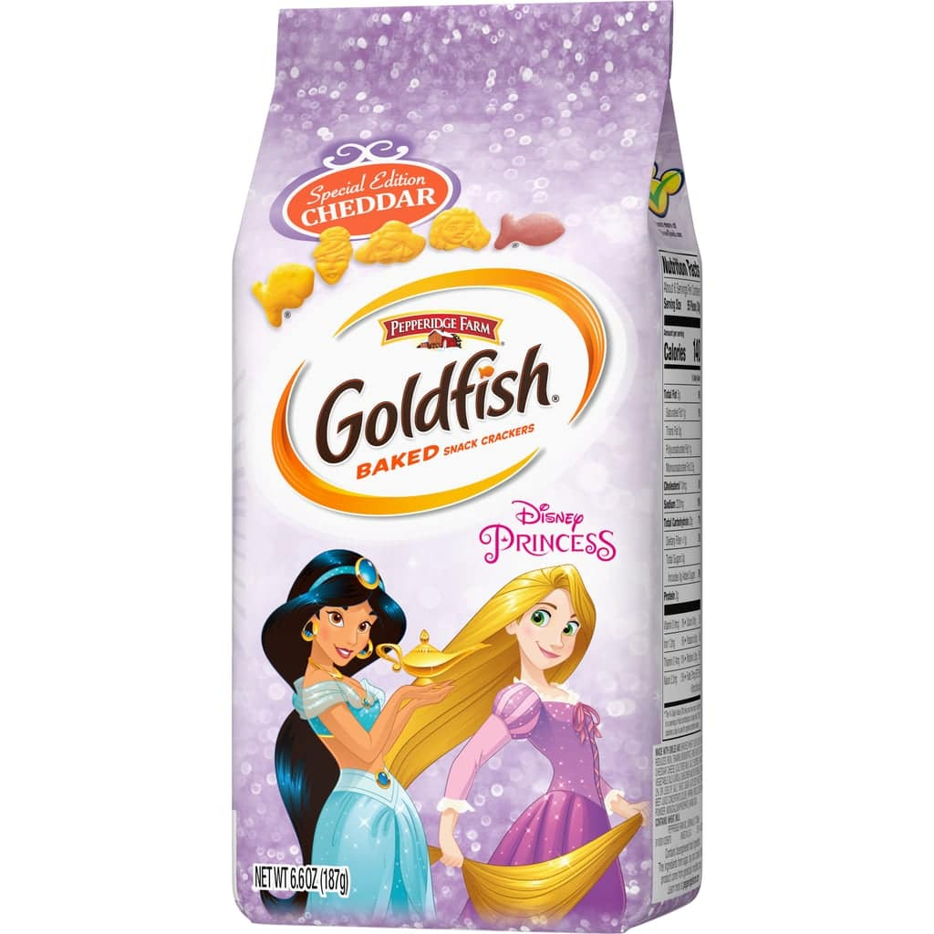 Goldfish unveils cracker packs inspired by Disney Princesses and Marvel's Avengers 15