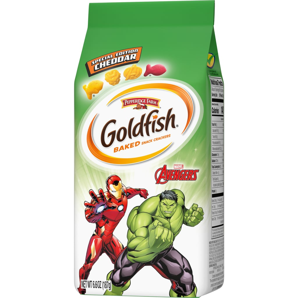 Goldfish unveils cracker packs inspired by Disney Princesses and Marvel's Avengers 18