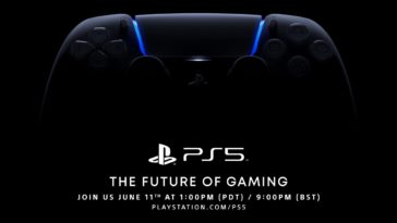 PlayStation confirms PS5 event for June 11th 13