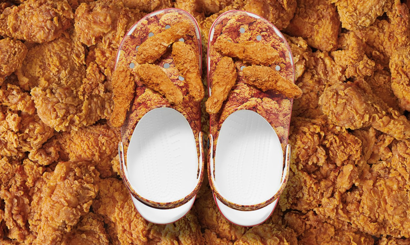 KFC chicken-scented Crocs are real and here's how you can get a pair 18