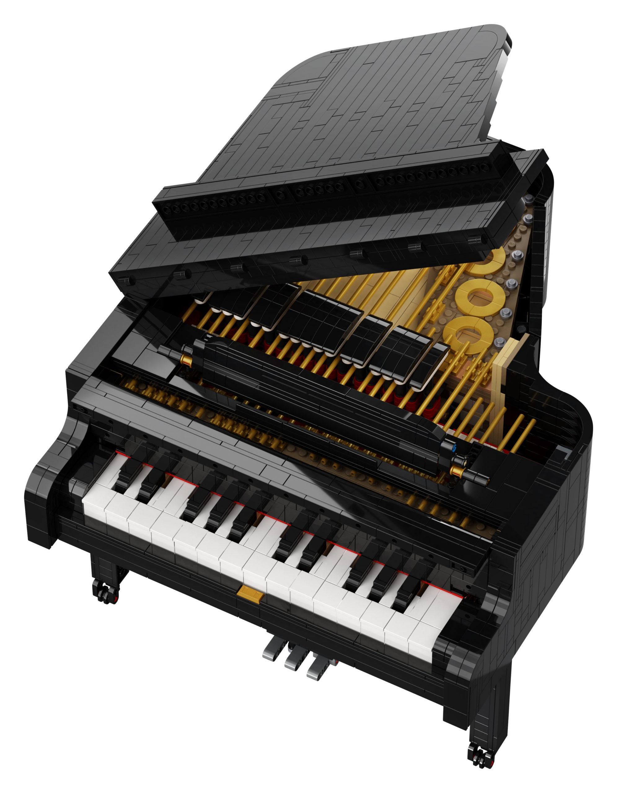 LEGO Ideas Grand Piano set lets you play music for real 16