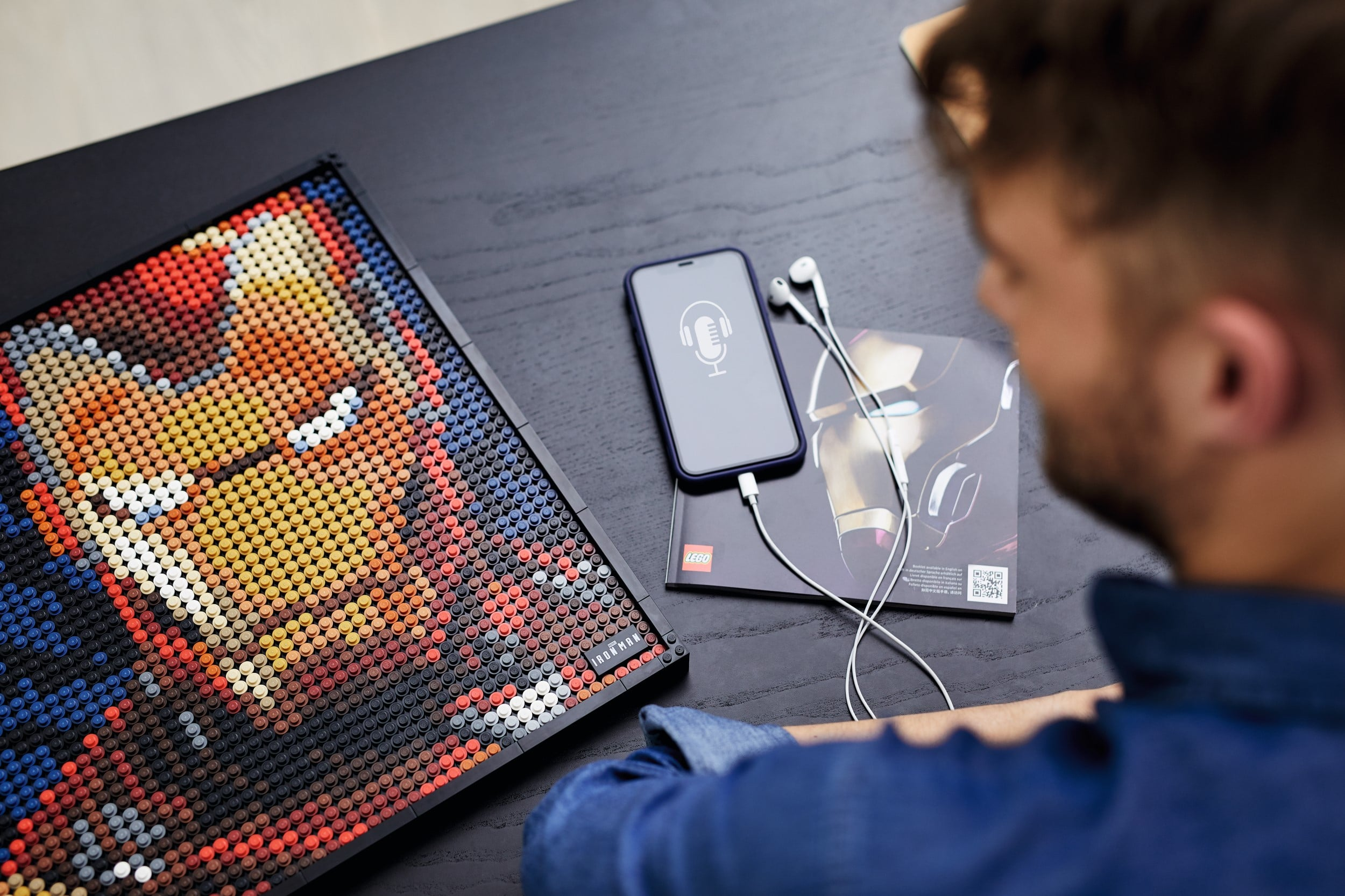 LEGO Art lets you create portraits of Iron Man, Darth Vader, The Beatles, and more 19
