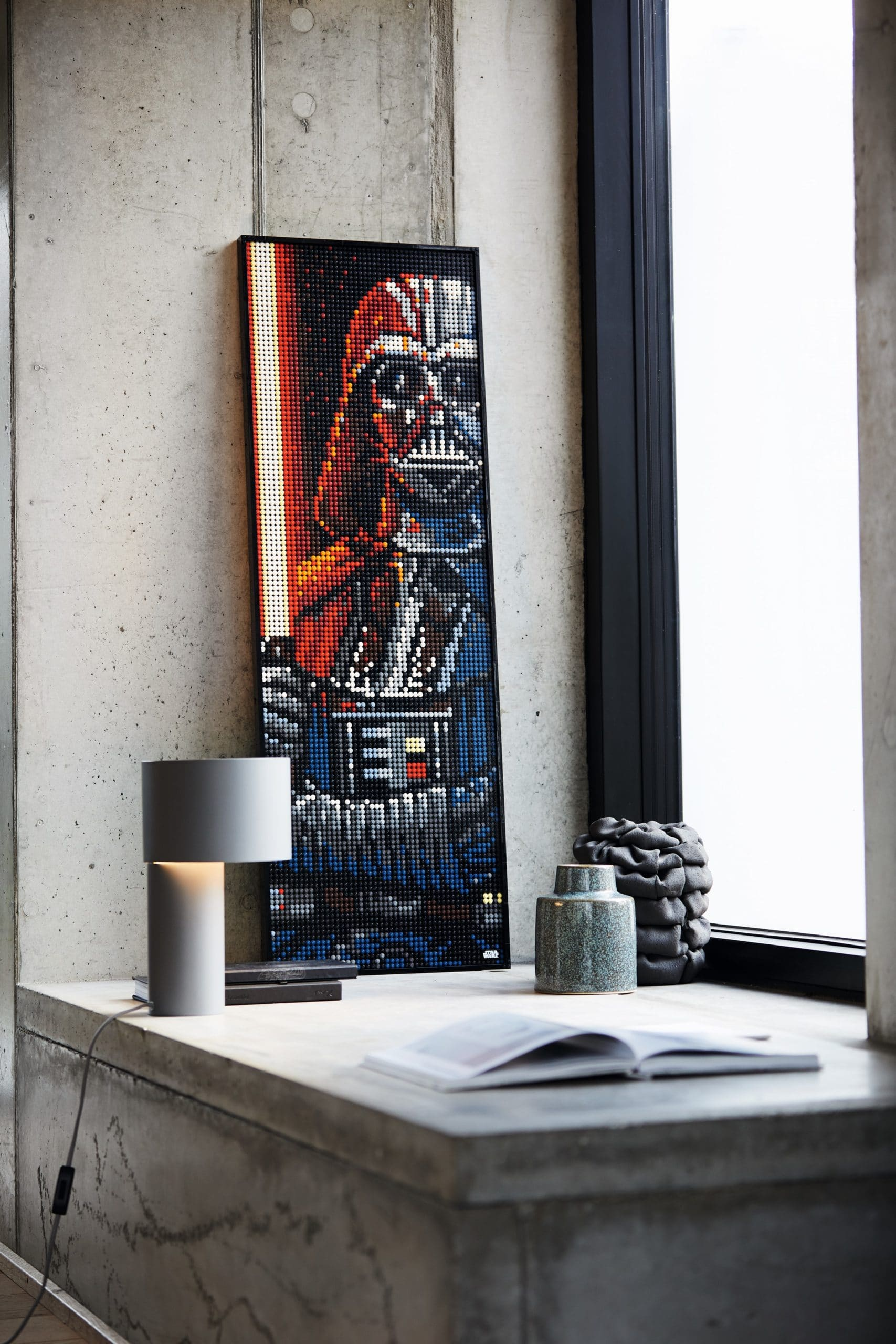 LEGO Art lets you create portraits of Iron Man, Darth Vader, The Beatles, and more 21