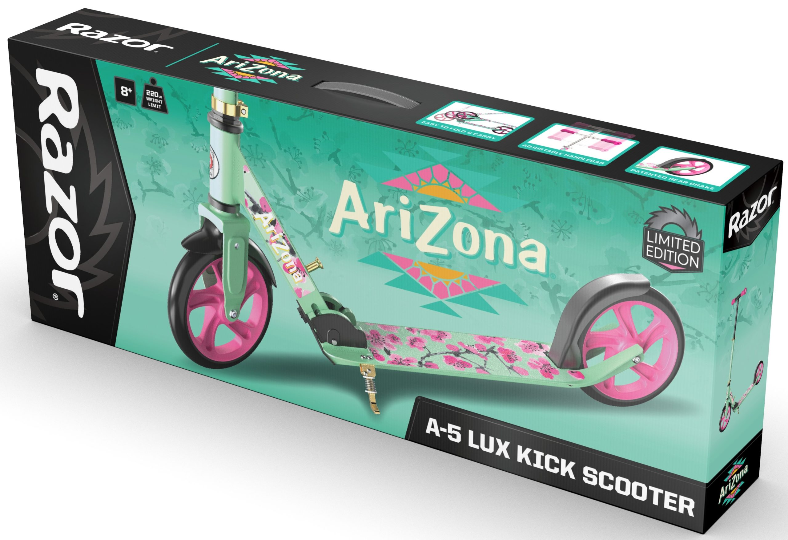 These Razor scooters are inspired by AriZona Iced Tea, Sharpie, Sriracha, and Takis Snacks 13