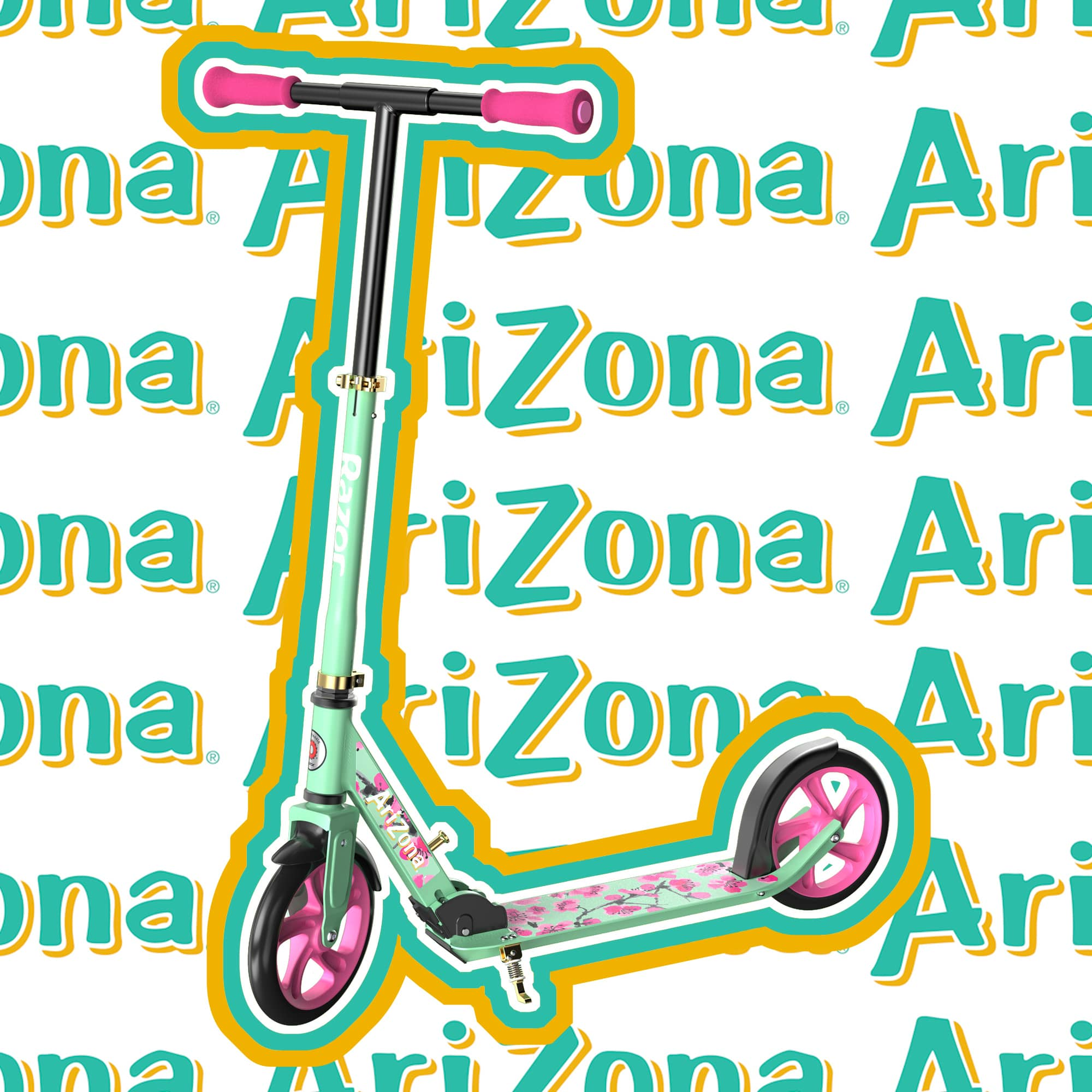 These Razor scooters are inspired by AriZona Iced Tea, Sharpie, Sriracha, and Takis Snacks 12