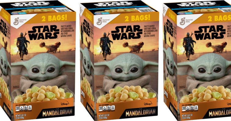Baby Yoda cereal is hitting Sam's Club and Walmart shelves this summer 12