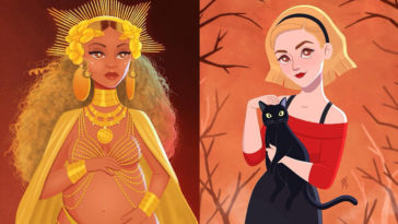 Celebrities reimagined as animated characters 18