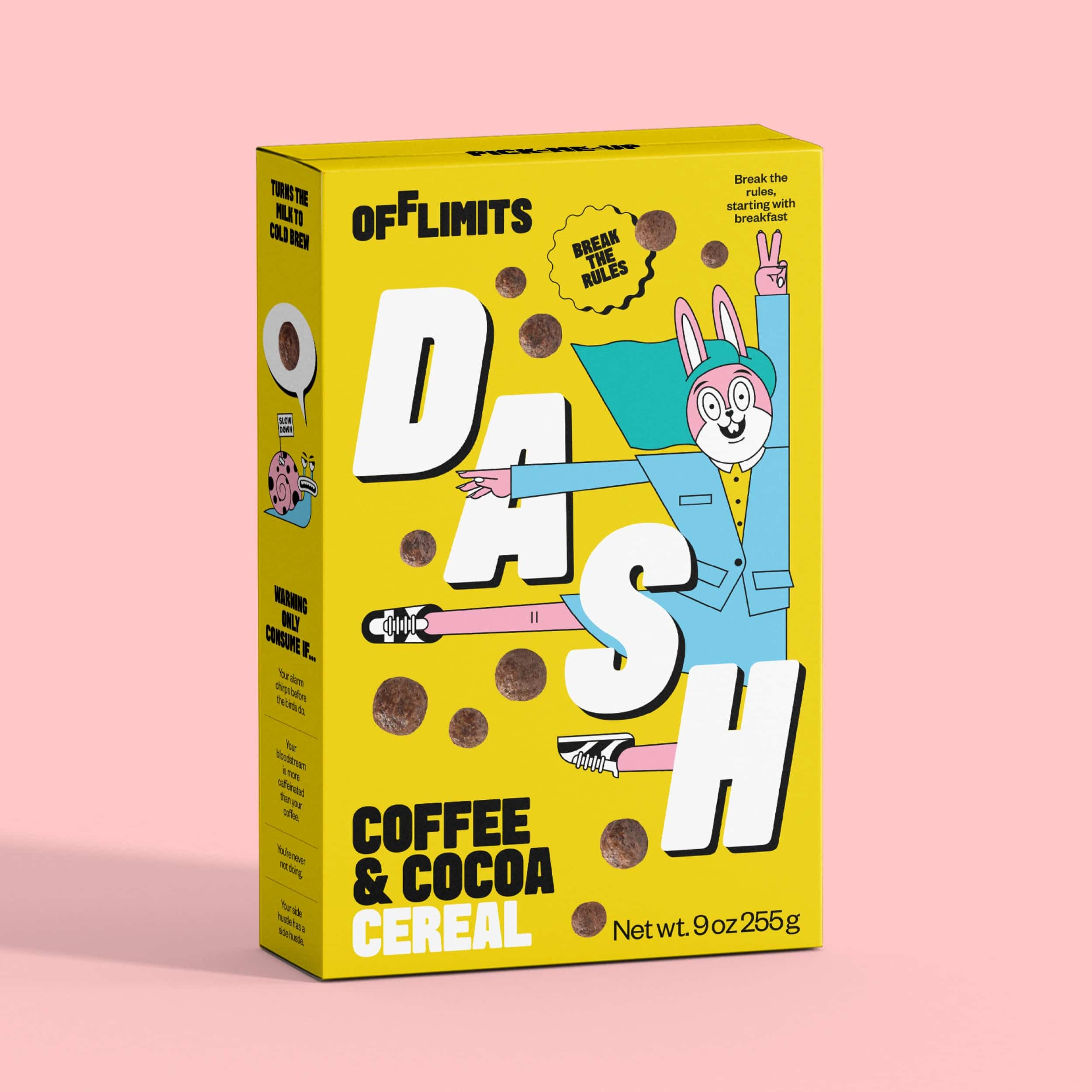 OffLimits Cereal launches with two flavors that scream counterculture 13