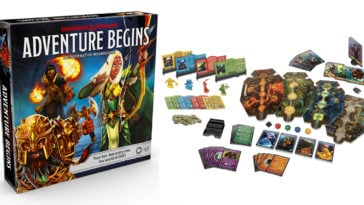 Dungeons & Dragons Adventure Begins board game is designed for newbies 22