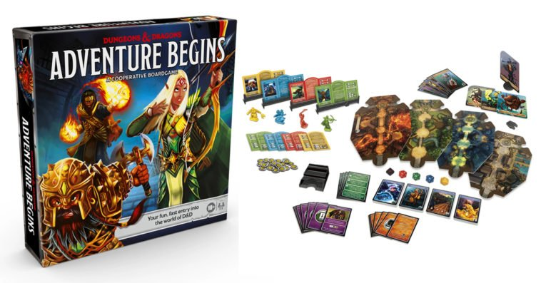 Dungeons & Dragons Adventure Begins board game is designed for newbies 13