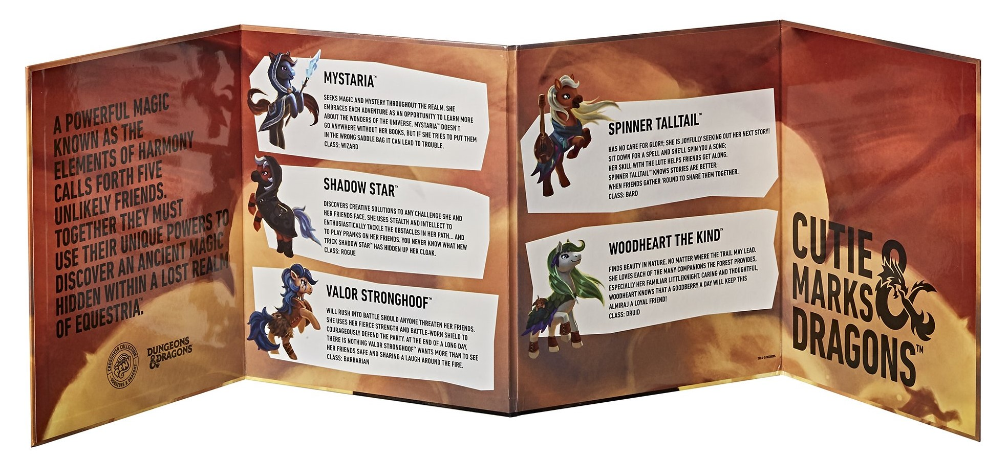 My Little Pony and Dungeons & Dragons collab for a set of crossover figures 12
