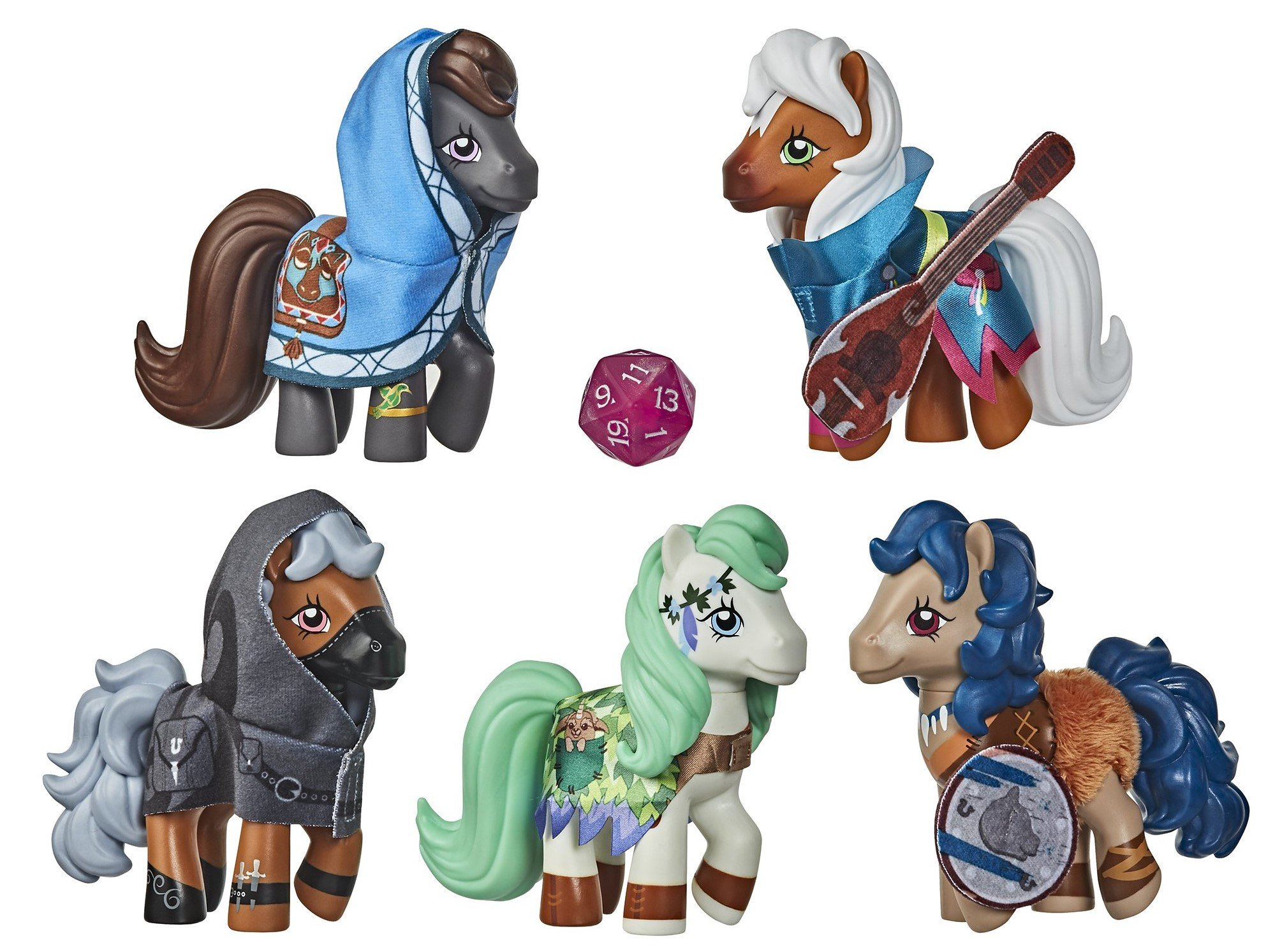 My Little Pony and Dungeons & Dragons collab for a set of crossover figures 11