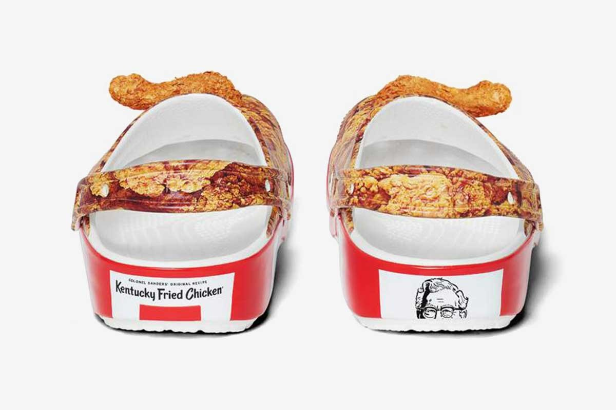 KFC chicken-scented Crocs are real and here's how you can get a pair 17