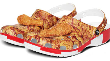 KFC chicken-scented Crocs are real and here's how you can get a pair 16