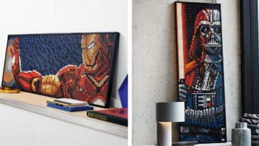 LEGO Art lets you create portraits of Iron Man, Darth Vader, The Beatles, and more 12