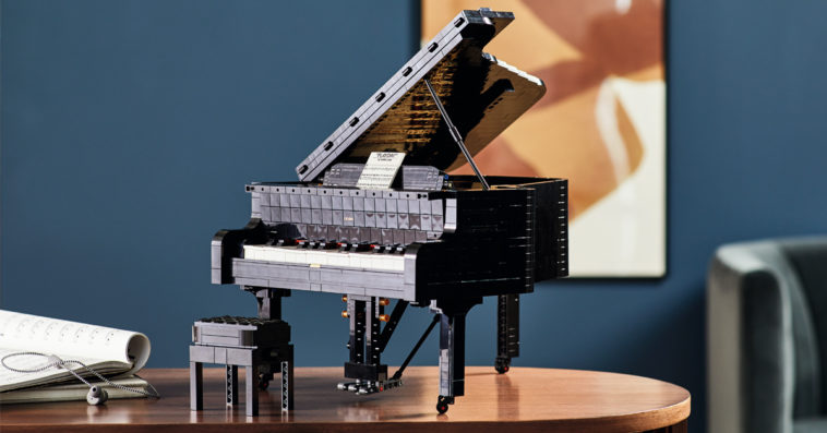 LEGO Ideas Grand Piano set lets you play music for real 15