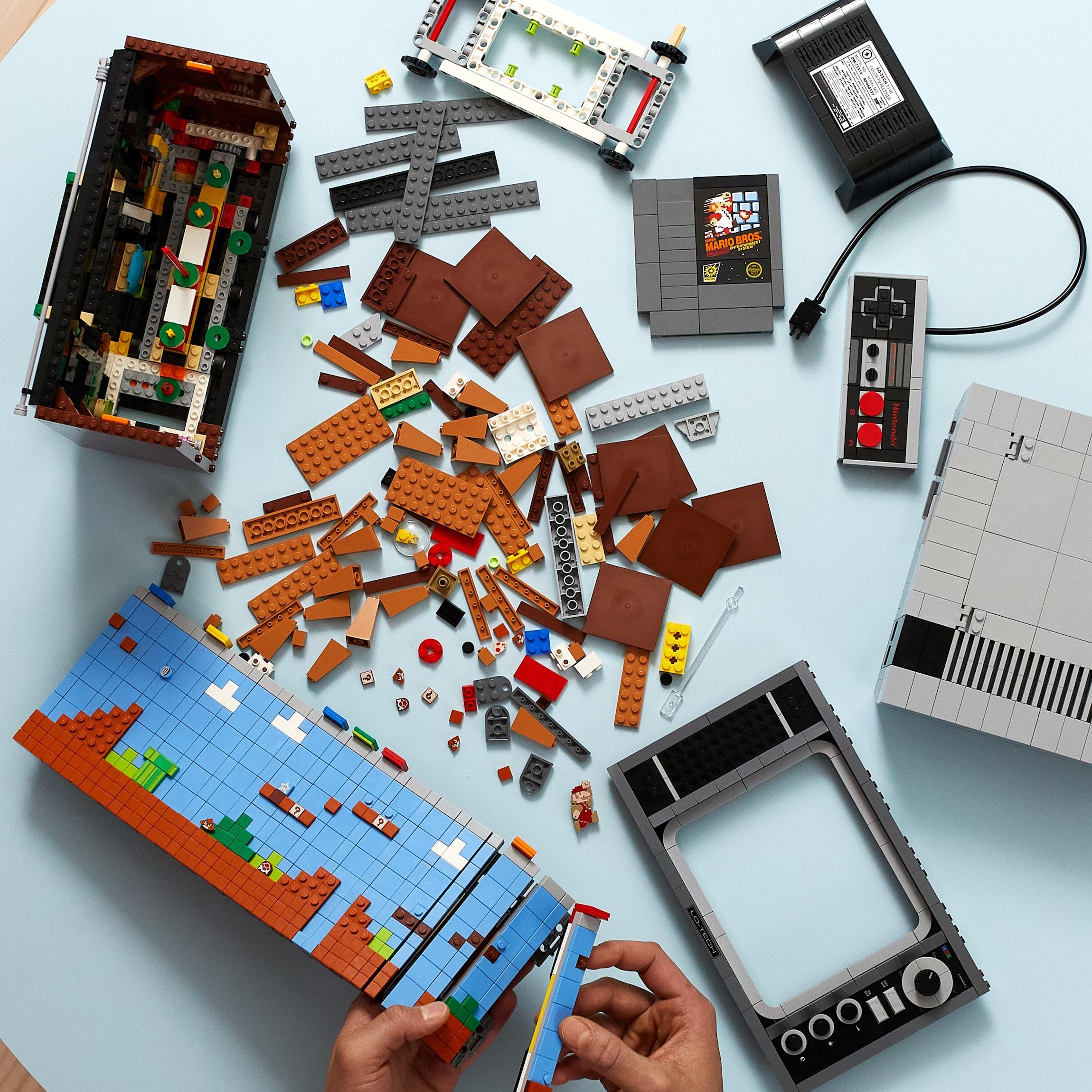 LEGO NES Building Kit is a brilliant reimagining of the original Nintendo console 17
