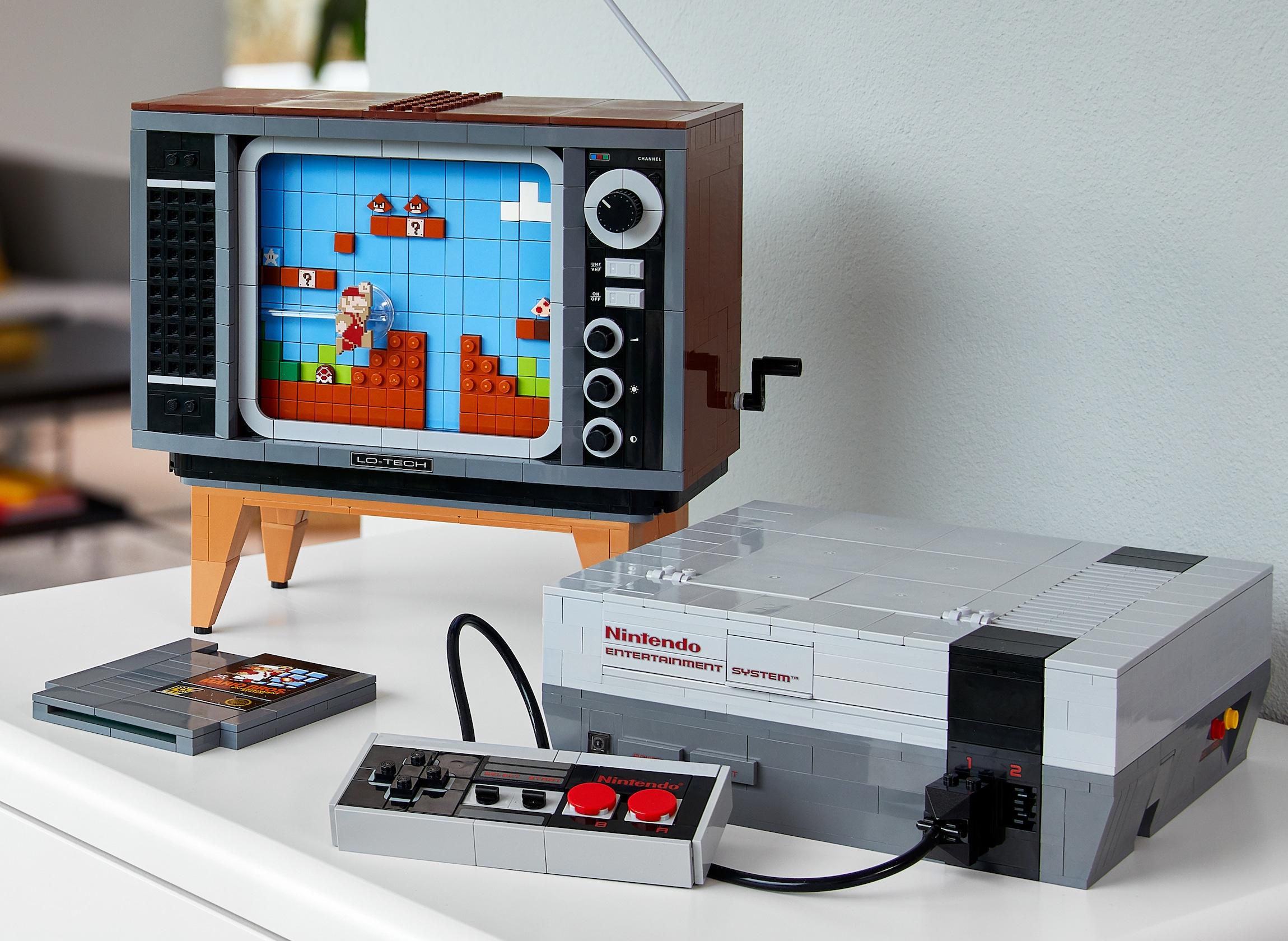 LEGO NES Building Kit is a brilliant reimagining of the original Nintendo console 15