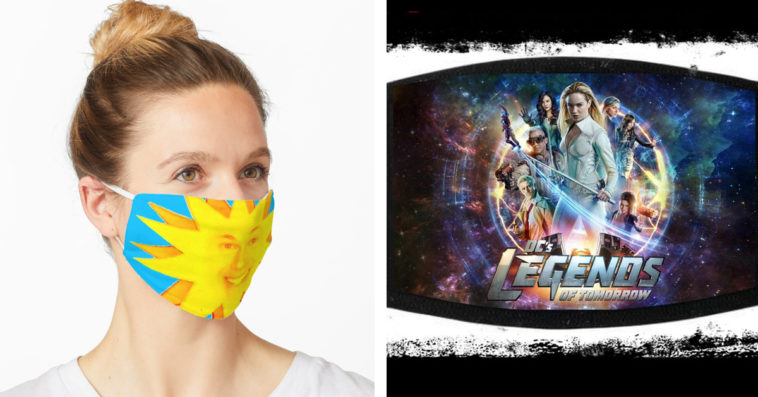These Legends of Tomorrow face masks will keep you quirky amid the pandemic 13