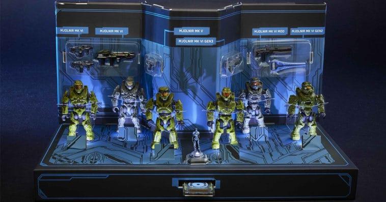 MEGA Construx reveals Halo Master Chief Collection as a Comic-Con exclusive 15