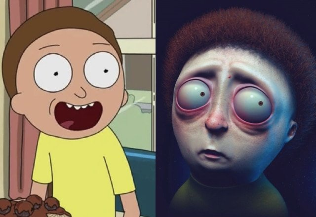 What cartoon characters would look like in real life 13