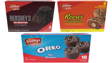 Mrs. Freshley's partners with Hershey's, Reese's, and Oreo for three new treats 16