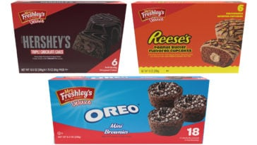 Mrs. Freshley's partners with Hershey's, Reese's, and Oreo for three new treats 19