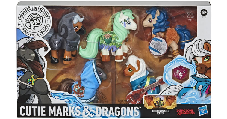 My Little Pony and Dungeons & Dragons collab for a set of crossover figures 10