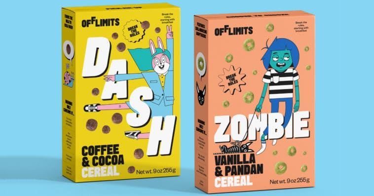 OffLimits Cereal launches with two flavors that scream counterculture 12