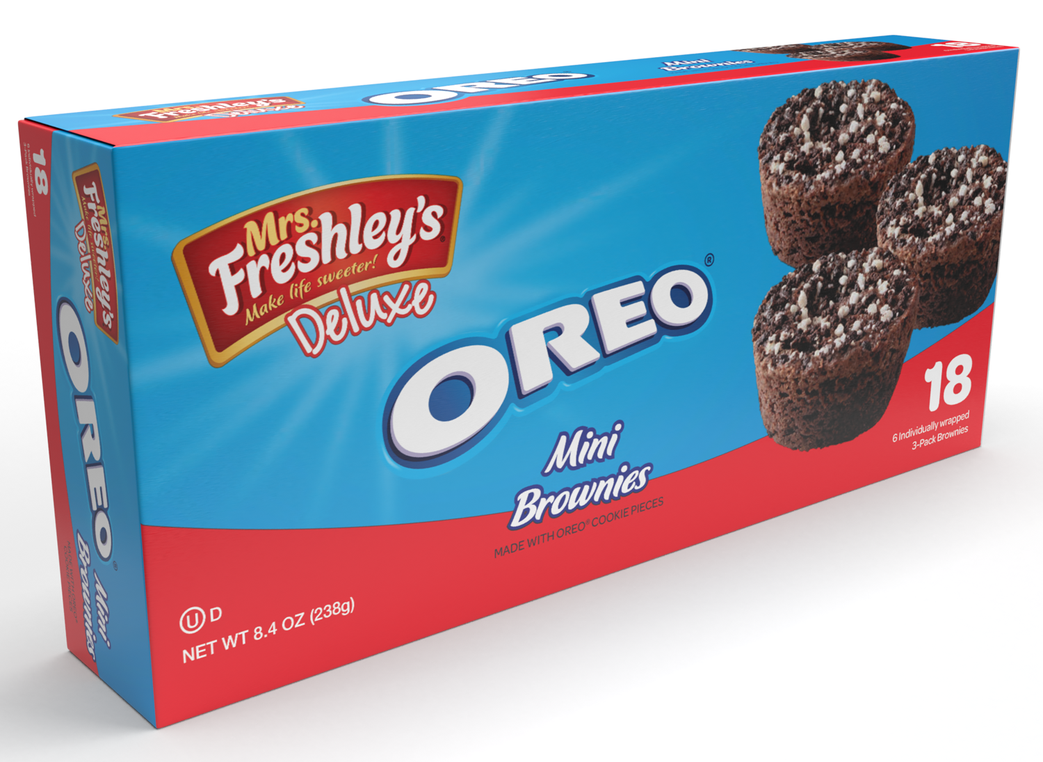 Mrs. Freshley's partners with Hershey's, Reese's, and Oreo for three new treats 14