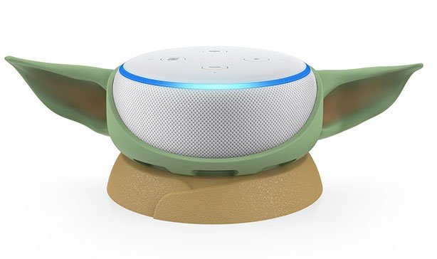Otterbox's Baby Yoda stand transforms the Amazon Echo Dot into The Child 13