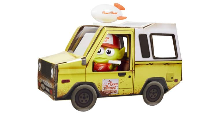 Mattel celebrates Toy Story's 25th anniversary with an Alien Pizza Planet Delivery Guy figure 12