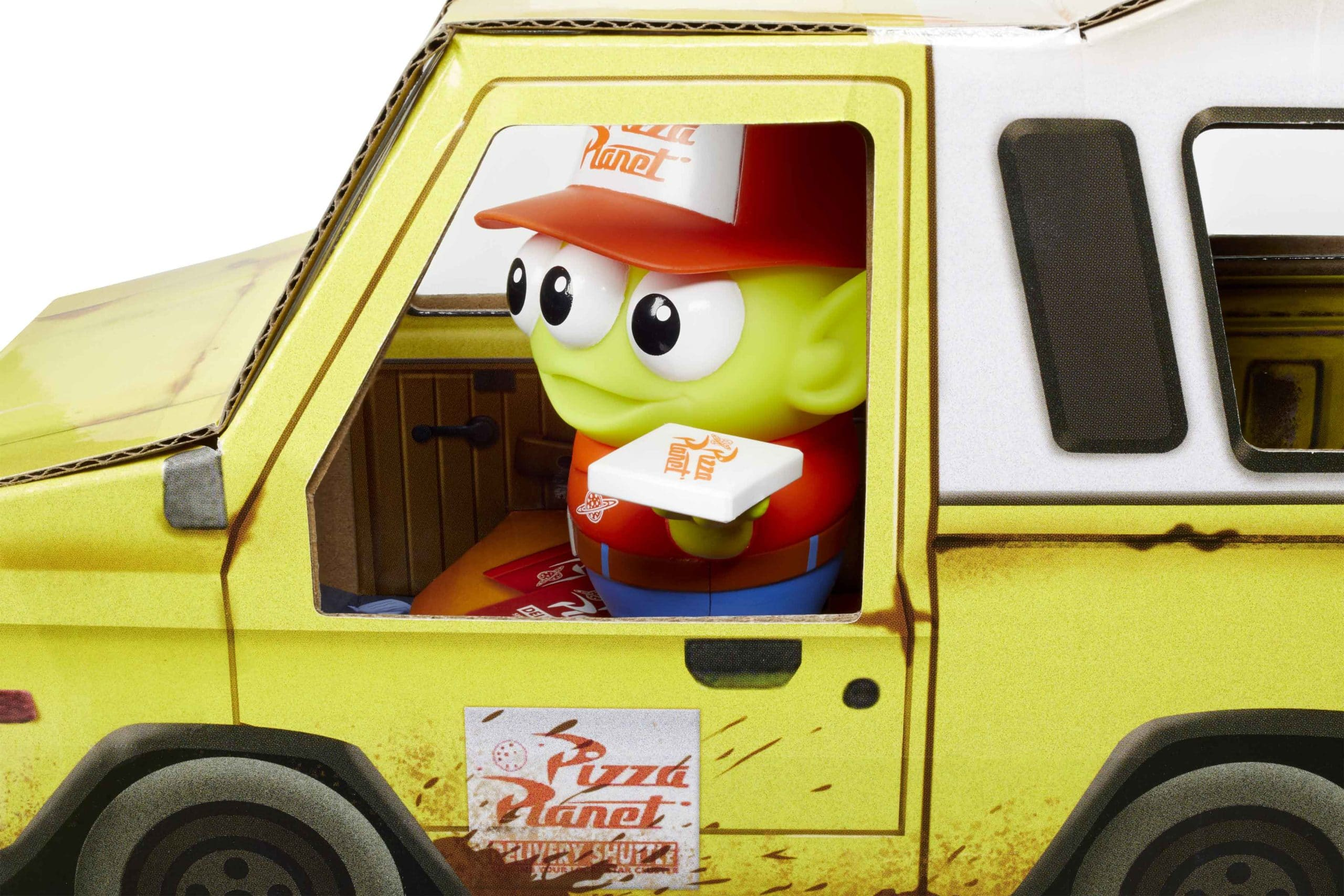 Mattel celebrates Toy Story's 25th anniversary with an Alien Pizza Planet Delivery Guy figure 13