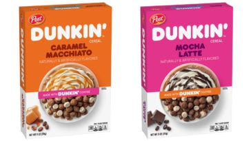 Dunkin' is releasing cereals that taste like Caramel Macchiato and Mocha Latte 19