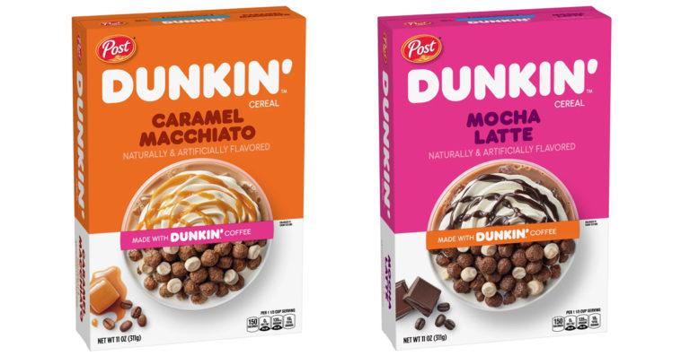 Dunkin' is releasing cereals that taste like Caramel Macchiato and Mocha Latte 15